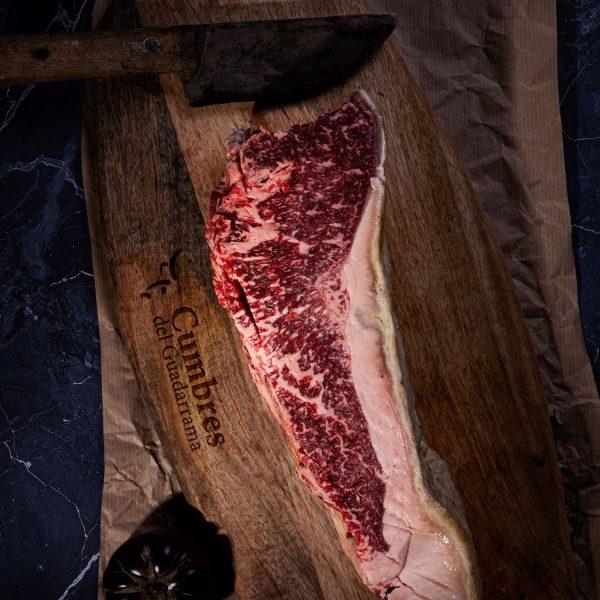 Entrecot de carne de buey premium